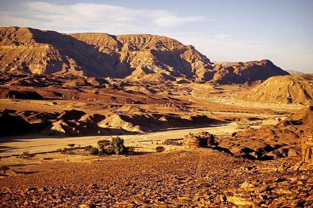 escursione deserto sinai