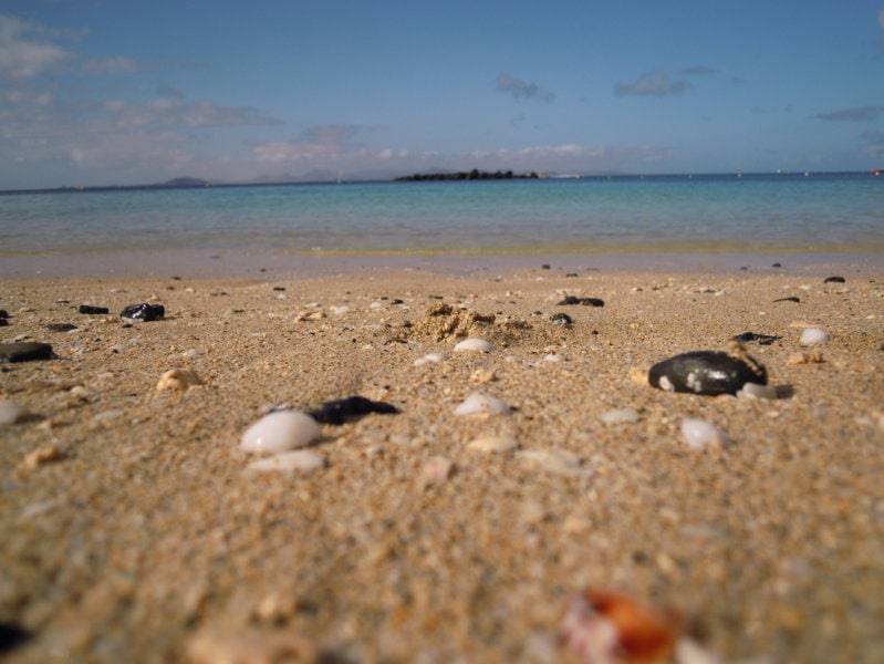 Spiagge Lanzarote Sud Isola
