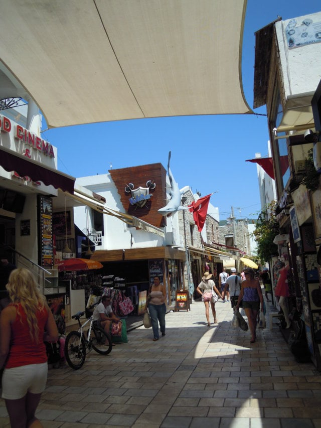 Shopping a Bodrum