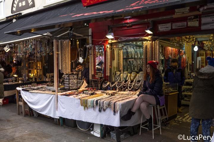 Mercato di Portobello Road Londra