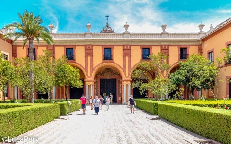 Real Alcazar Siviglia