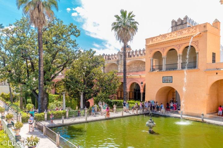 Giardini Real Alcazar Siviglia
