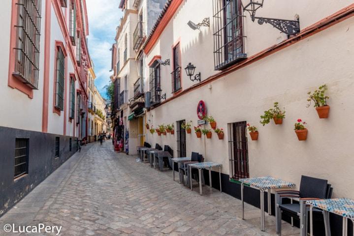 barrio de las cruces Siviglia