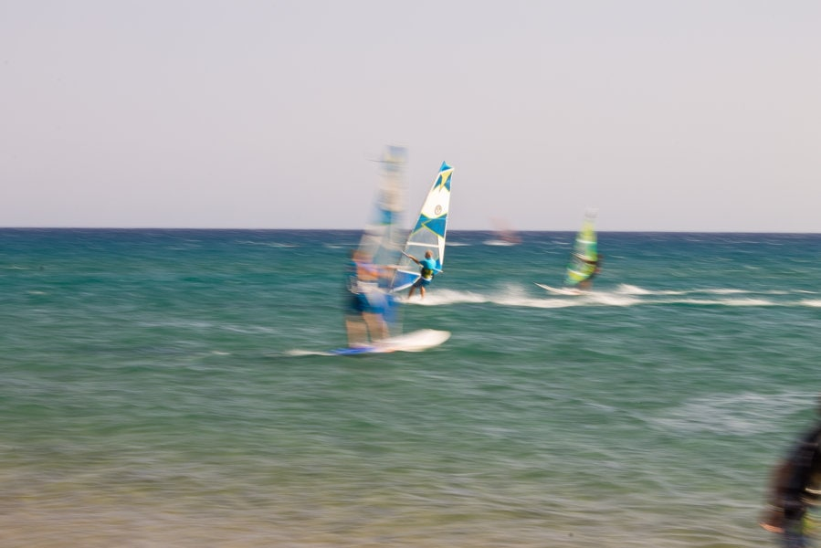 Windsurf Capo Prassonissi