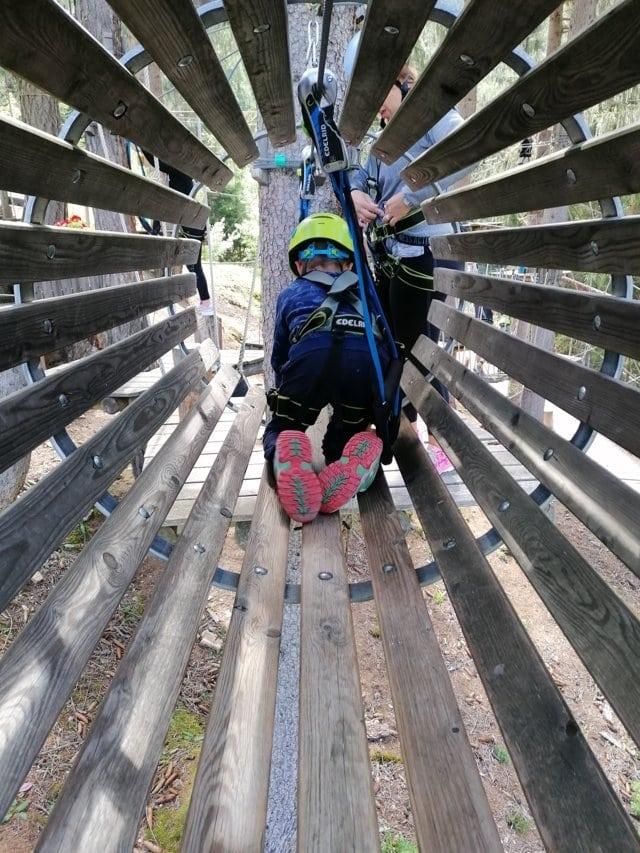 Tirolo coi bambini in estate